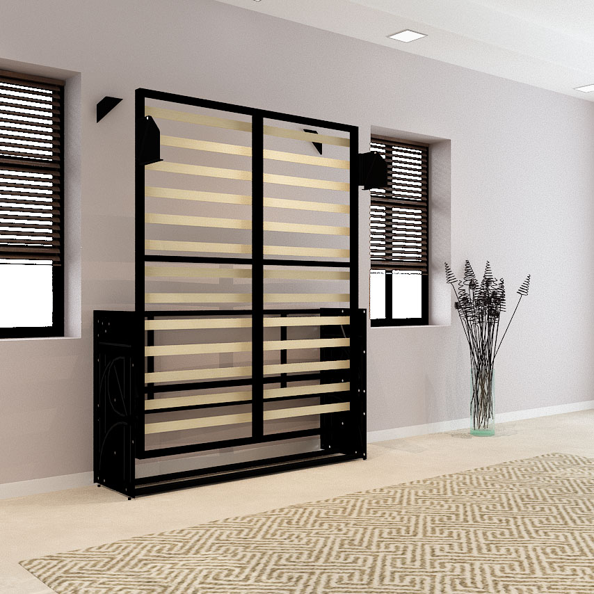 wall mounted bed frame